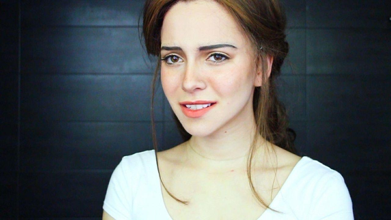 Emma watson belle transformation tutorial crazy makeup
