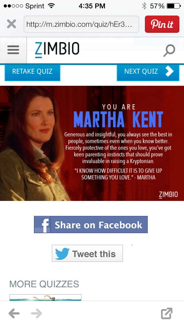 Which Smallville character are you? I'm Martha Kent ...