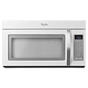 Whirlpool 2 0 Cu Ft Over The Range Microwave White Ice