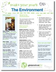 Family volunteering ideas for the environment