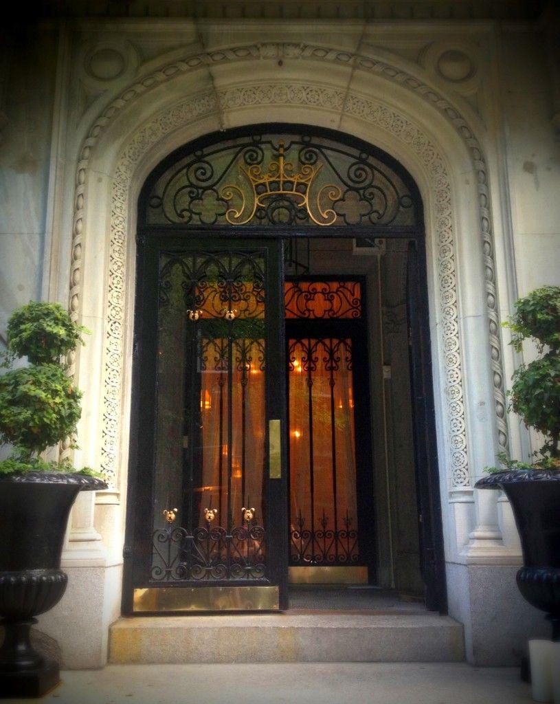 dream doorway: the crown on new york's upper east side