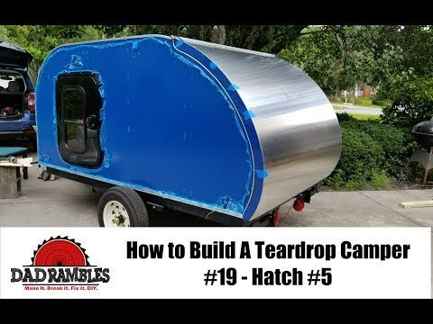 Diy Homemade Camper Trailer Youtube
