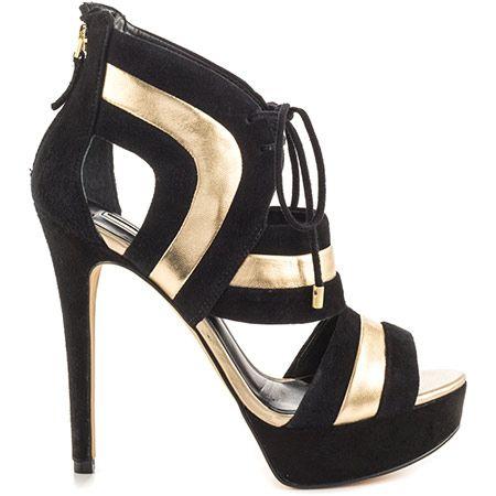 Guess Footwear Karlea - Black Multi Suede