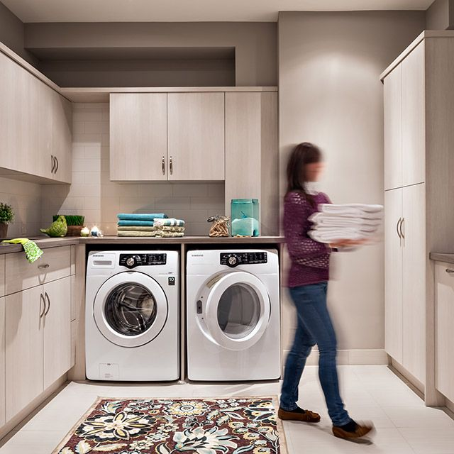 Hartland Kitchen And Laundry Room Remodel: Organized Interiors Laundry Room