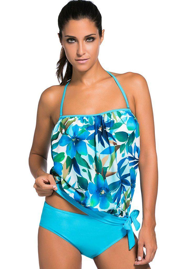 FLYILY Femmes Tankini Sets 2 pièces Maillots de bain Tenue de plage Plus Size Indemnité De Jeu Avec Paypal Rabais Vraiment Images Bon Marché Ef2oTnAigJ