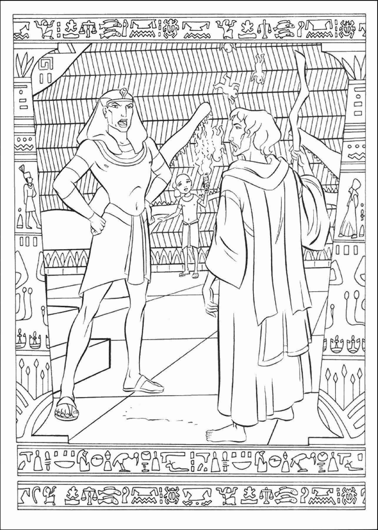 Prince Coloring Pages Printable Unique the Prince Of Egypt Coloring Pages in 2020 | Prince of ...
