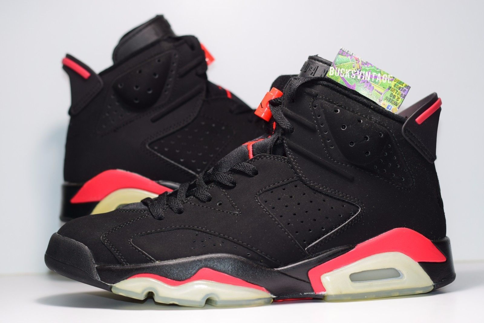 2000 Nike Air Jordan Retro Vi 6 Infrared Og Size 9 Authentic Rare Db 136038 061 Air Jordans Retro Air Jordans Nike Air Jordan Retro