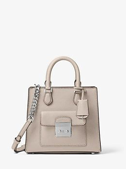 Bridgette Small Saffiano Leather Crossbody by Michael Kors