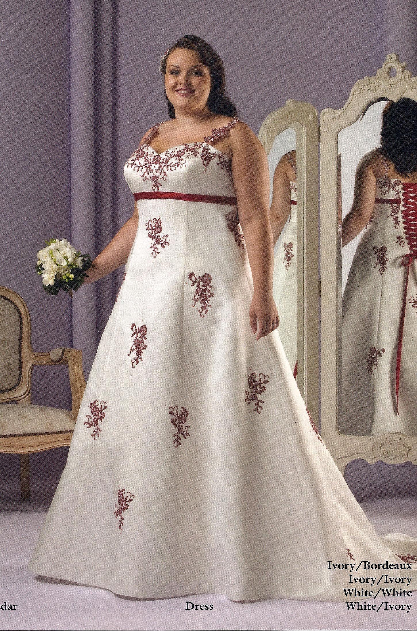 Billig aber elegant und glamour hochzeitskleider günstig große ...