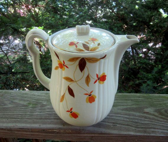 halls superior quality kitchenware jewel tea autumn by 2manymiles