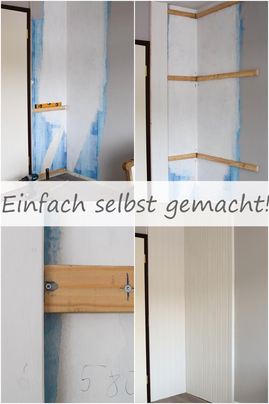 GroBartig Wandverkleidung DIY Aus Holz Mit Nut Und Federbretter Kreidefarbe Von  Painting The Past Renovierung Vertaefelung Beadboard