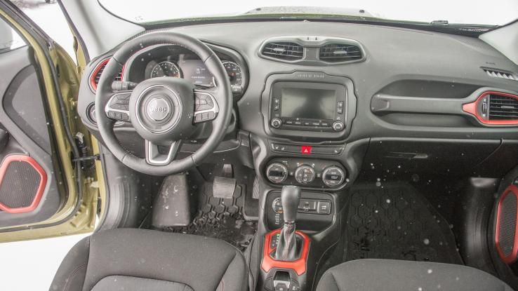 2015 Jeep Renegade Trailhawk Winter Drive Review 2015 Jeep Renegade Jeep Renegade Trailhawk Jeep Renegade