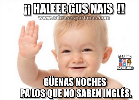 Inglés Dominado Buenas Noches Buenas Noches Meme Buenas