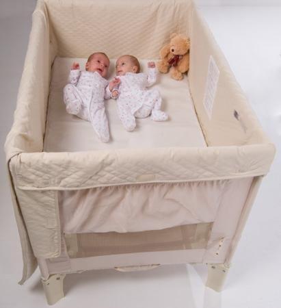 twins nursery furniture. Arms Reach Co-Sleeper Twin Cot | Twins Nursery Furniture Shop Online TwinsUK