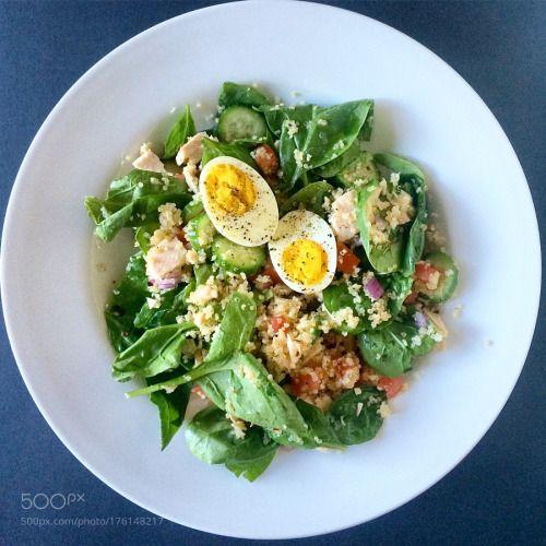 Quinoa spinach salad by fabscorsino  IFTTT 500px