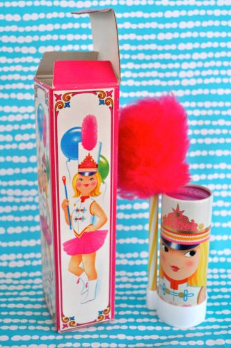 Adorable Vintage Avon Miss Lollypop Powderette. Perfume Talc Pink Puff. In Box. | eBay