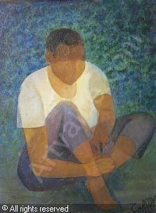 Le jeune artisan assis sold by Eric Pillon Enchères, Versailles, on Sunday, March 18, 2007