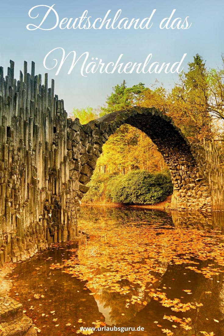 Märchenhafte Orte Deutschland