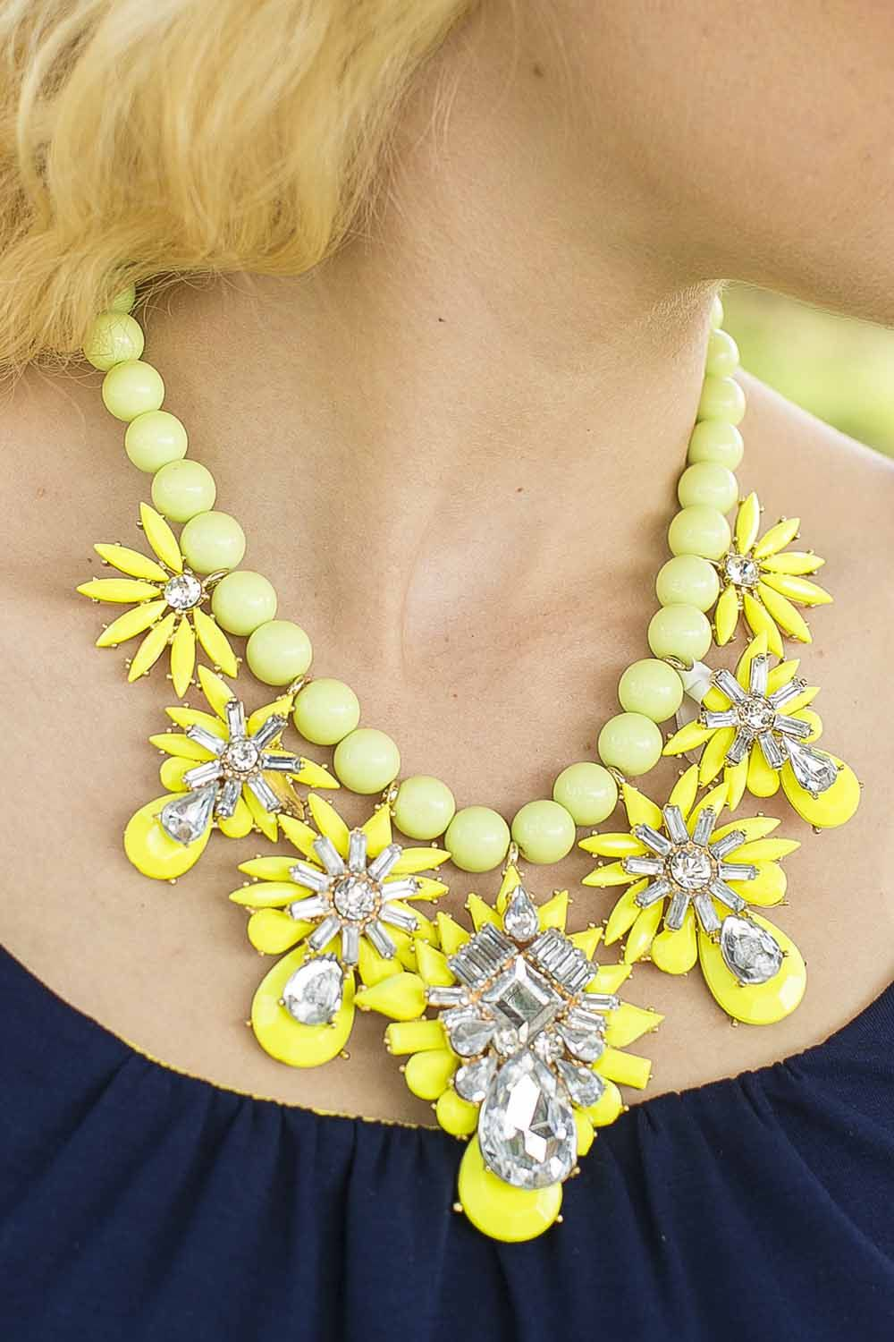 Ray of Light Statement Necklace #love - JC's Boutique - www.SHOPJCB.com