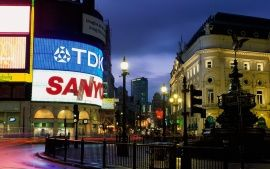 Wallpapers Hd Piccadilly Circus London Voyages Angleterre