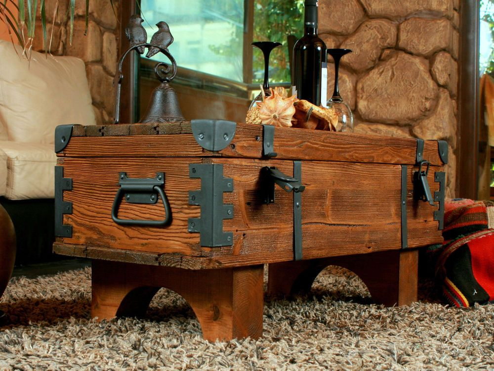 33++ Wooden box coffee table ideas
