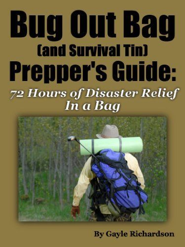 Bug Out Bag Prepper's Guide: What To Pack For Those Critical First 72 Hours by Gayle Richardson, http://www.amazon.com/dp/B00C44HB8Y/ref=cm_sw_r_pi_dp_PTDPsb1RWKCWV