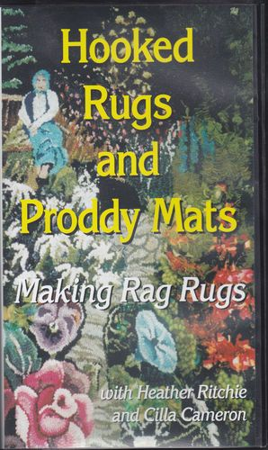 Hooked Rugs and Proddy Mats, Making Rag Rus with Heather Ritchie & Cilla Cameron | eBay