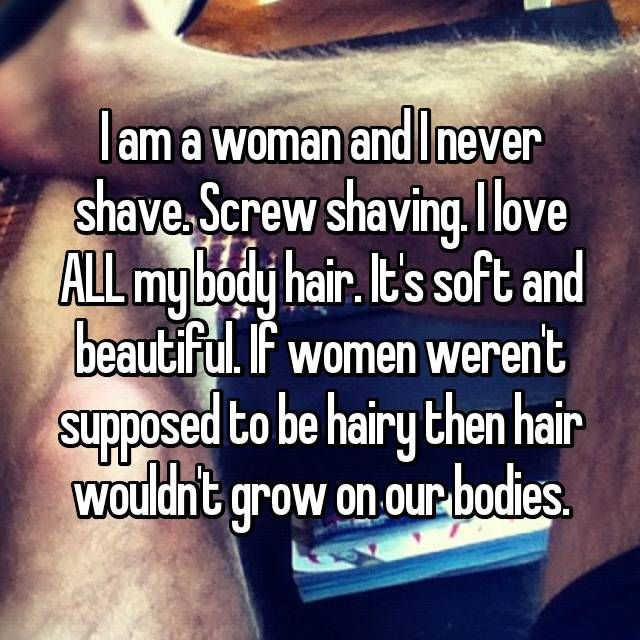25 Women Dish On Why They Never Shave | Whisper | Rebel
