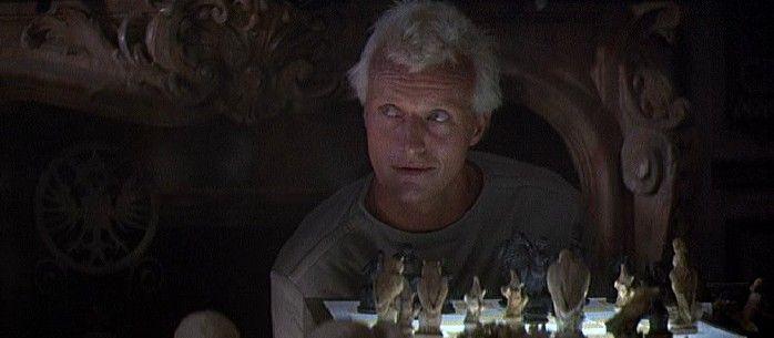 Blade Runner- Roy's vital chess game.