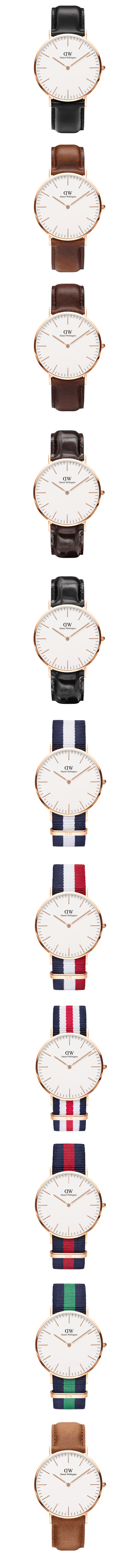 A set of #men's #watches about #classic men #style by #Daniel #Wellington…