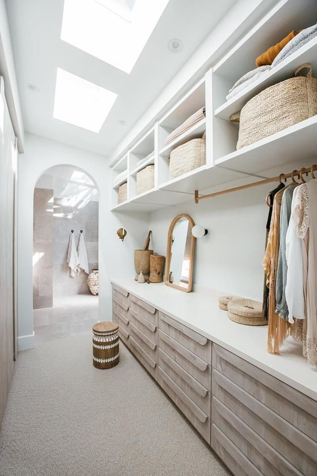 How to design a walk-in wardrobe