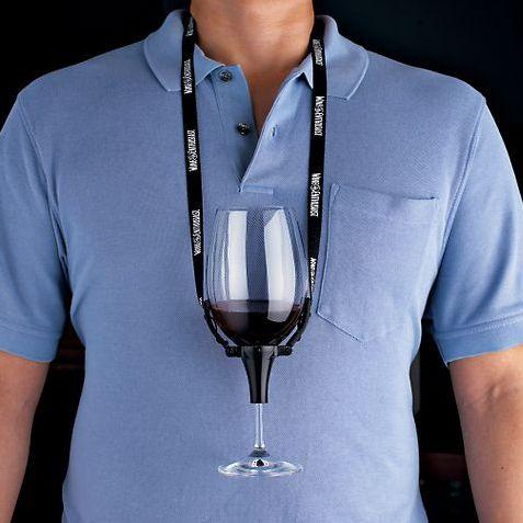 Wine Glass Holder Necklace 25 Wine Gadgets Wine Glass Holder