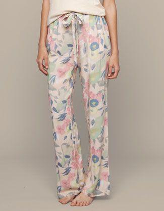 Pantalone largo fiori - Pantaloni - Italia 22,99