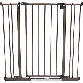 North States Extra Tall Easy Close Pet Gate In Bronze Dog Gate Pet Gate Pet Safety Gate