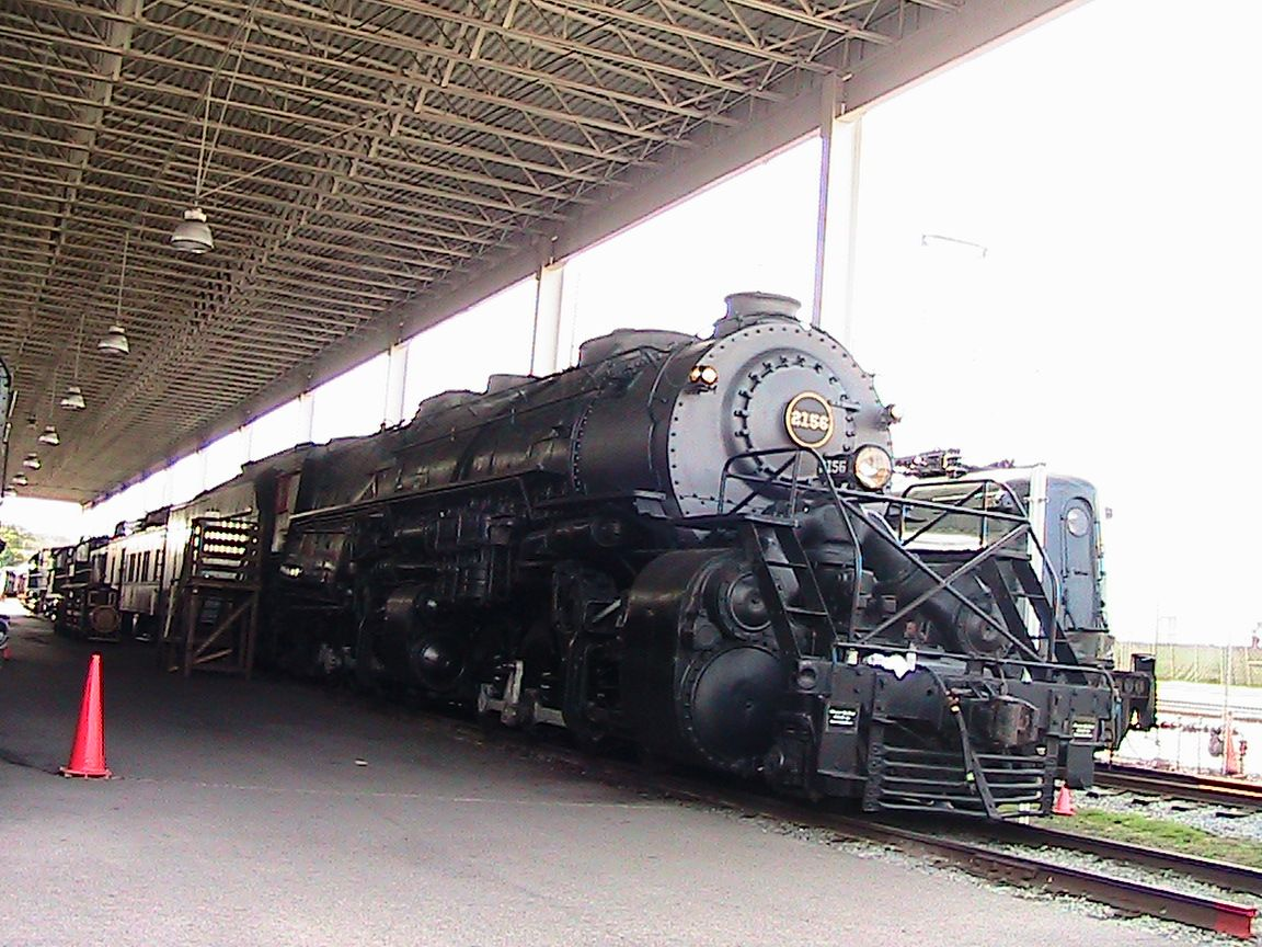 Norfolk & Western Class Y6A #2156. Virginia Museum Of Transportation.  Roanoke, Virginia.