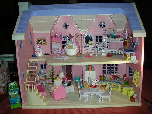 Casa De Hello Kitty Juguete
