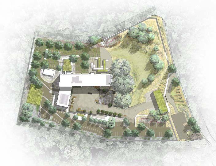 Green Geneva Illustrative Plan Jpg 704 543 Landscape Architecture Plan Architecture Site Plan Landscape Architecture Model