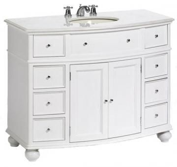 Hampton Bay Curved Sink Cabinet Might Even Be Able To Use The Top Drawers