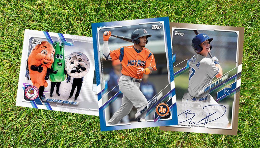 2021 Topps Pro Debut Baseball Brings Chrome Back To The Minors Baseball Baseball Design Baseball Cards