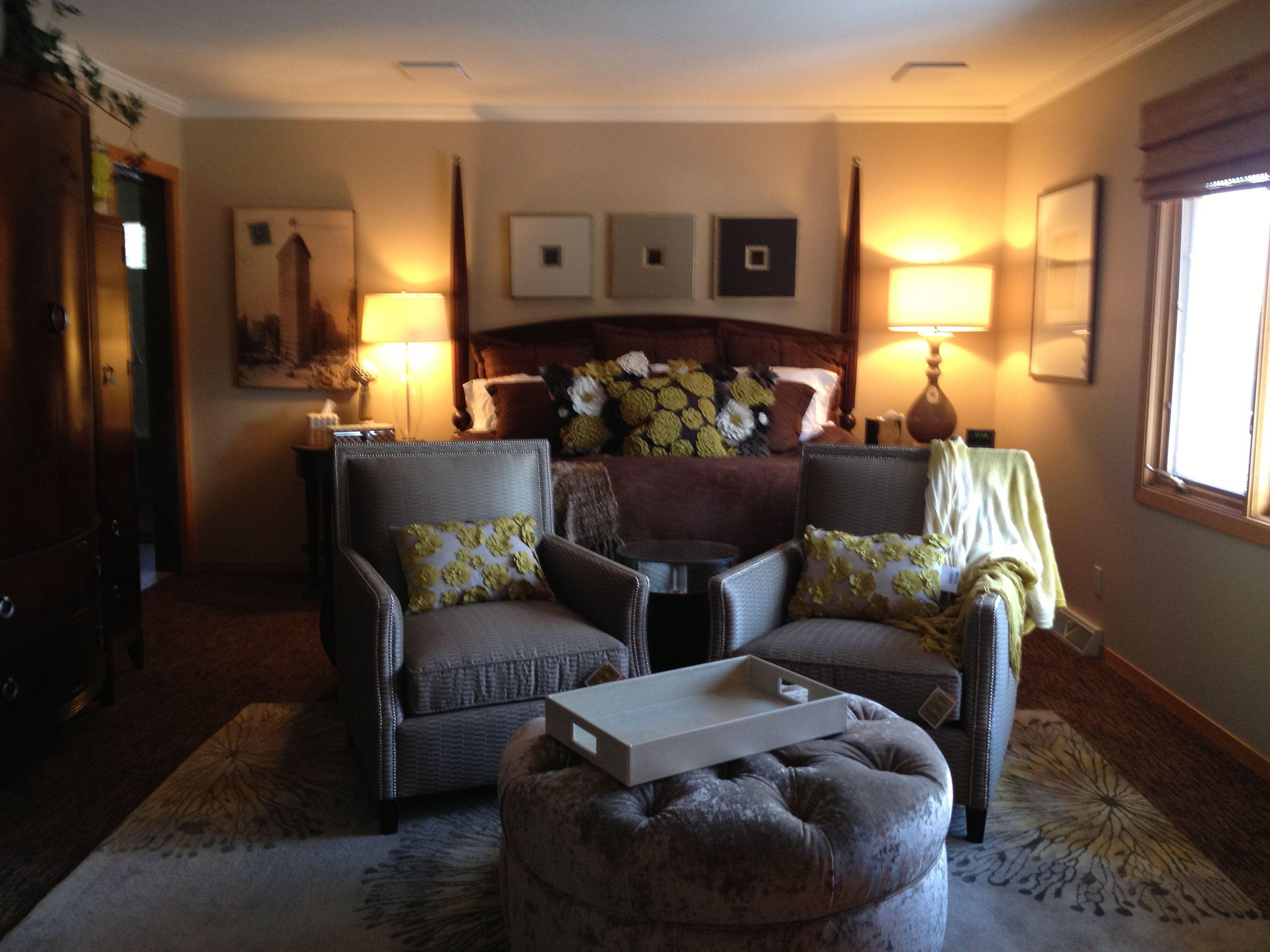 Master Bedroom sitting area | Master Bedroom | Pinterest