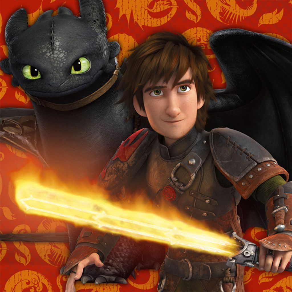 """How to Train Your Dragon 2 - Lunch Napkins Includes: (16) themed paper lunch napkins. Measure 6.5"""" x 6.5"""". This is an officially licensed How toTrain Your Dragon 2 - product. Weight (lbs) 0.16 Length"""