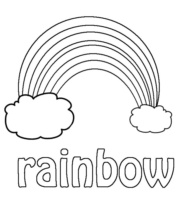 Preschool Printables Rainbow Learn Colors Kindergarten Coloring Pages Preschool Coloring Pages Coloring Pages For Kids