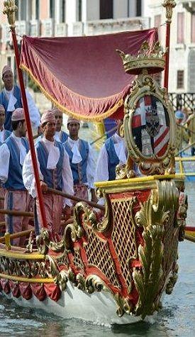Parade before La Regatta di Venezia, Italy