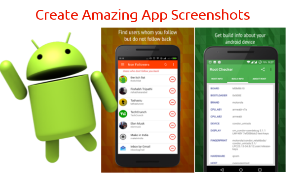 create attractive app screenshots for app store by rishabh_dugar