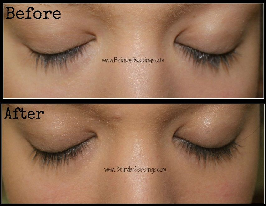 Belindas Babblings Rapidlash Review With Before And After Photos