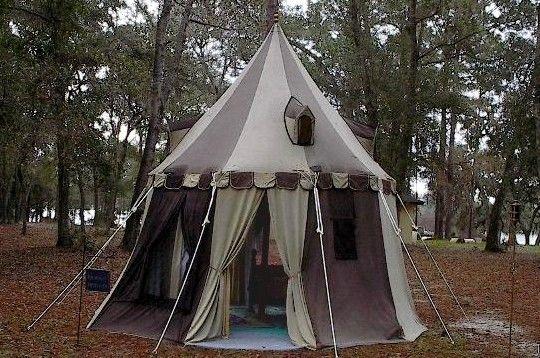 Black Amp Tan Pavilion Medieval Event Stuff