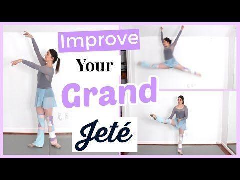 Improve Your Grand Jeté | Kathryn Morgan - YouTube | Dance ...