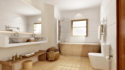 rustgevende-badkamer-wit-hout.jpg (500×283) - badkamer | Pinterest ...