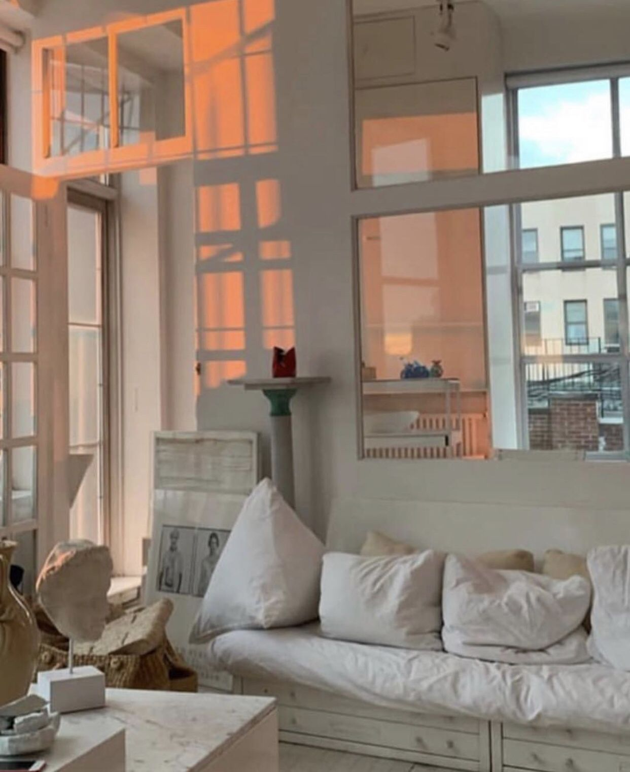 Lovely Light From The Sunset Aesthetic Rooms Home Aesthetic Bedroom