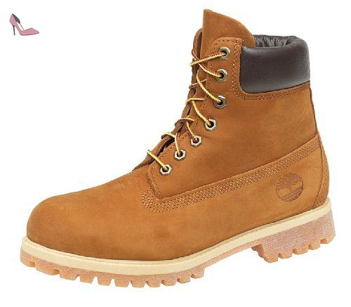 Botte TIMBERLAND 6 PREMIUM BOOT URBAN CHIC - Age - ADULTE, Couleur - GRIS, Genre - HOMME, Taille - 44,5